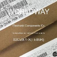 02CZ9.1-X(TE85R) - Toshiba America Electronic Components - ICs für elektronische Komponenten