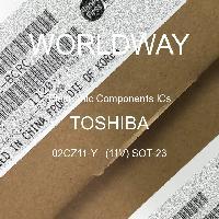02CZ11-Y   (11V) SOT-23 - TOSHIBA - CIs de componentes eletrônicos
