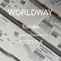 02CZ3.0-X - TOSHIBA - CIs de componentes eletrônicos