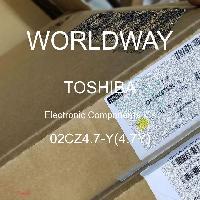 02CZ4.7-Y(4.7Y) - TOSHIBA - CIs de componentes eletrônicos