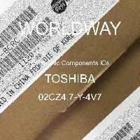 02CZ4.7-Y-4V7 - TOSHIBA - CIs de componentes eletrônicos