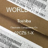 02CZ5.1-X - TOSHIBA - CIs de componentes eletrônicos