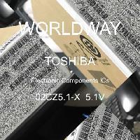 02CZ5.1-X  5.1V - TOSHIBA - CIs de componentes eletrônicos