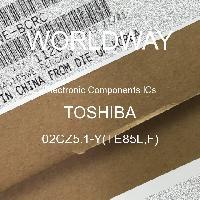 02CZ5.1-Y(TE85L,F) - TOSHIBA - CIs de componentes eletrônicos