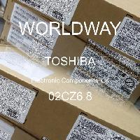 02CZ6.8 - TOSHIBA - CIs de componentes eletrônicos