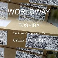 02CZ7.5-X TE85R - TOSHIBA - CIs de componentes eletrônicos