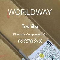 02CZ8.2-X - TOSHIBA - CIs de componentes eletrônicos