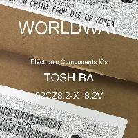 02CZ8.2-X  8.2V - TOSHIBA - CIs de componentes eletrônicos