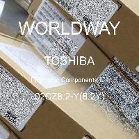 02CZ8.2-Y(8.2Y) - TOSHIBA - CIs de componentes eletrônicos