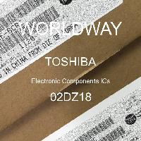 02DZ18 - TOSHIBA - CIs de componentes eletrônicos