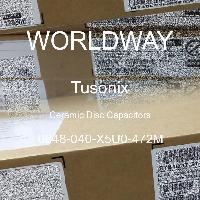 0848-040-X5U0-472M - Tusonix - Condensatoare de disc ceramice