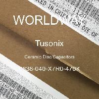 0838-040-X7R0-470K - Tusonix - Ceramic Disc Capacitors