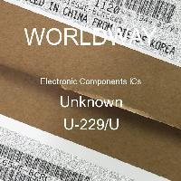 U-229/U - Unknown - Electronic Components ICs