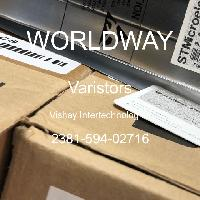 2381-594-02716 - Vishay Intertechnologies - Varistors