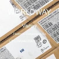 CRCW04020000Z0EDC - Vishay Intertechnologies - Componentes electrónicos IC