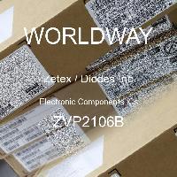 ZVP2106A ZETEX Trans MOSFET P-CH 60V 0.28A 3-Pin E-Line TO92 10 PCS